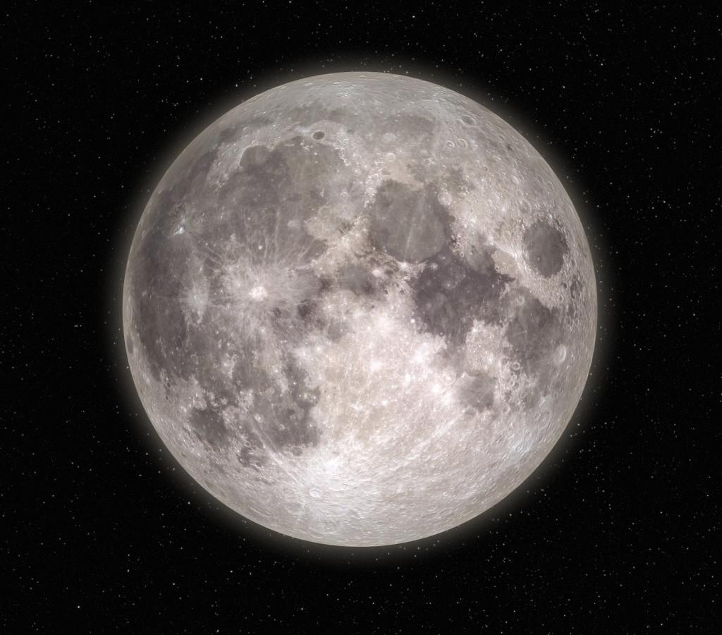 Moon image crop